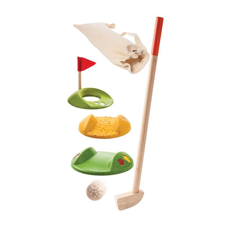 Plan Toys Mini Golf Single Set PT5682 Mainan Anak