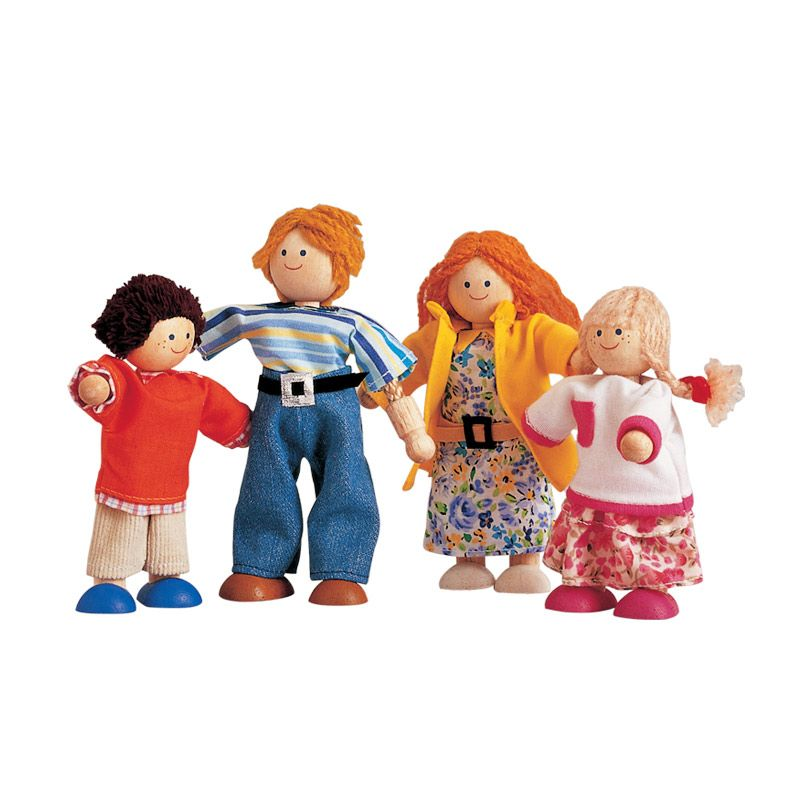 Plan Toys Modern Doll Family PT7142 Mainan Anak