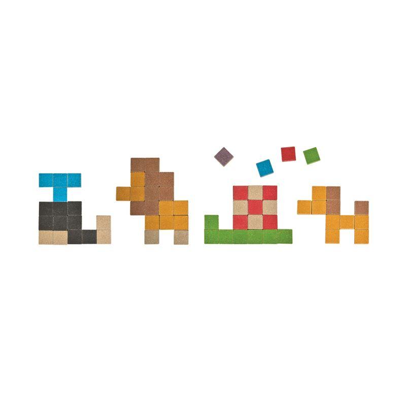 Plan Toys Mosaic PT5623 Mainan Blok dan Puzzle
