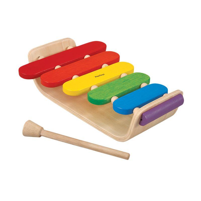 Plan Toys Oval Xylophone PT6405 Mainan Anak