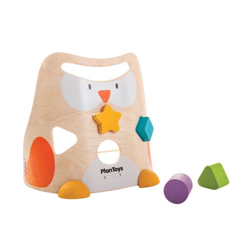 Plan Toys Owl Sorter PT5132 Mainan Anak