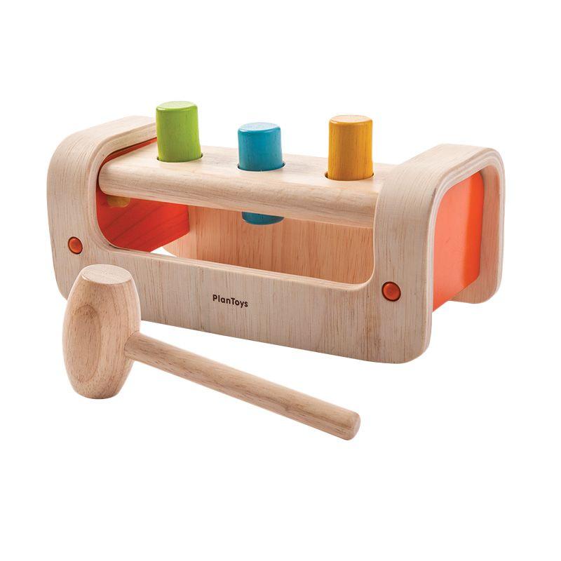 Plan Toys Pounding Bench PT5350 Mainan Anak