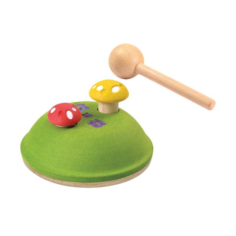 Plan Toys Pounding Mushrooms PT5632 Mainan Anak