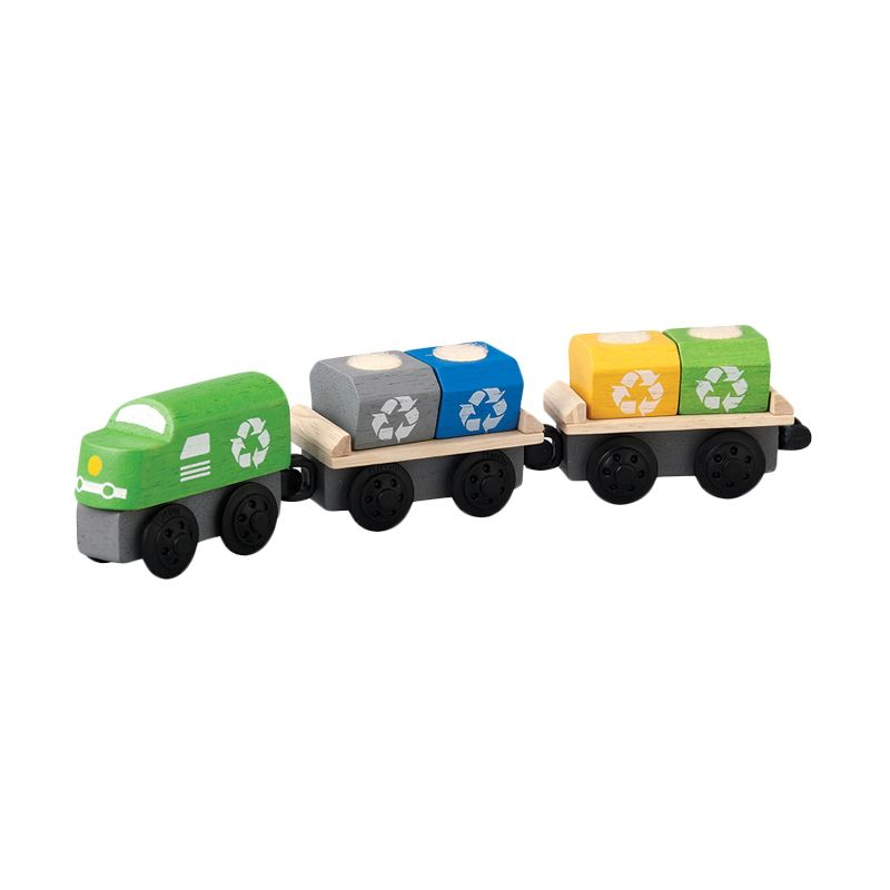 Plan Toys Recycling Train PT6252 Mainan Anak