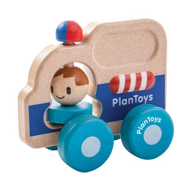Plan Toys Rescue Car PT5686 Mainan Anak
