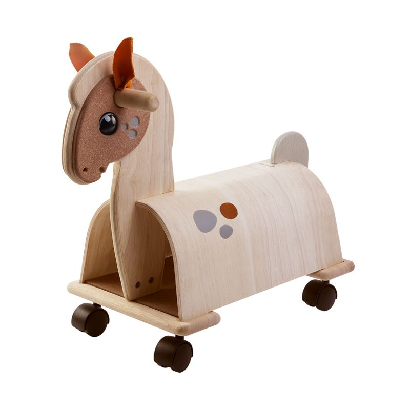 Plan Toys Ride On Pony PT3473 Mainan Anak