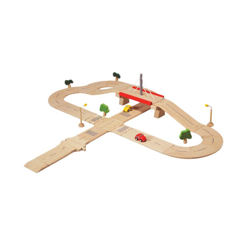 Plan Toys Road System Deluxe PT6078 Mainan Anak