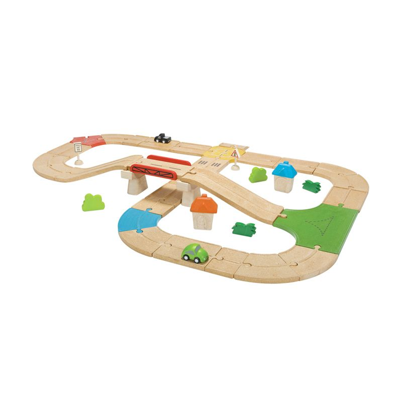 Plan Toys Roadway Set PT6607 Mainan Anak