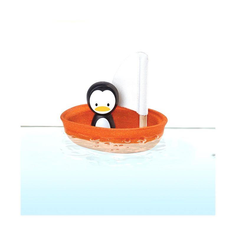 Plan Toys Sailing Boat Penguin PT5711 Mainan Anak