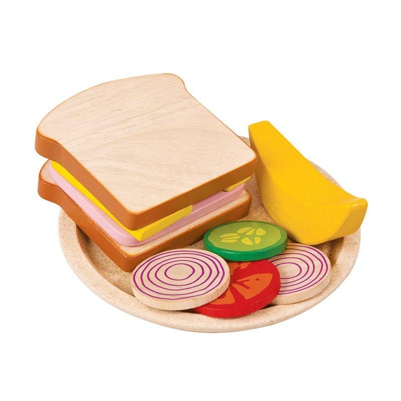 Plan Toys Sandwich Meal PT3464 Mainan Anak