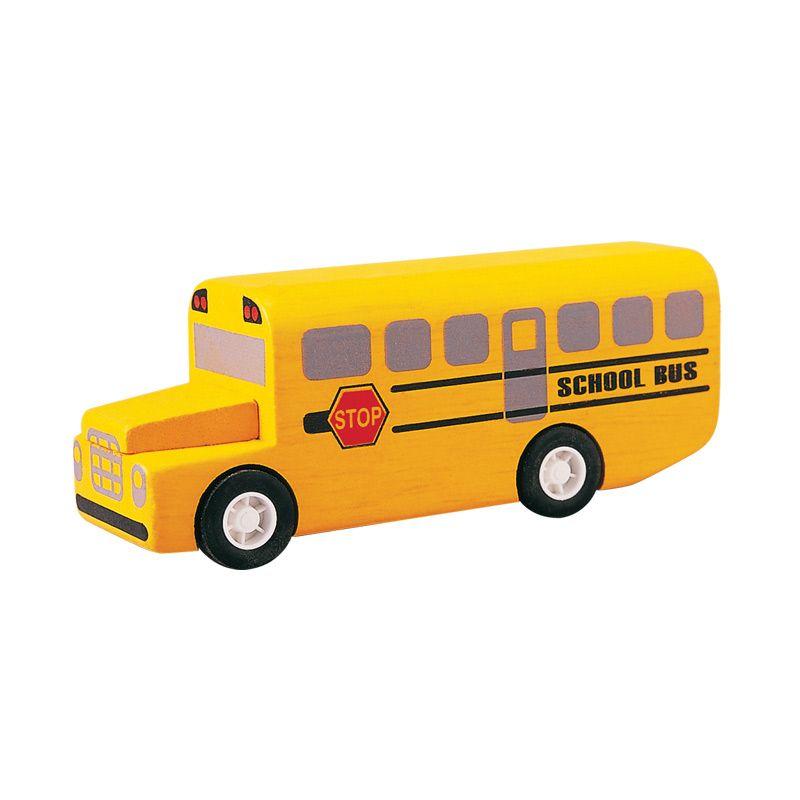 Plan Toys School Bus PT6049 Mainan Anak