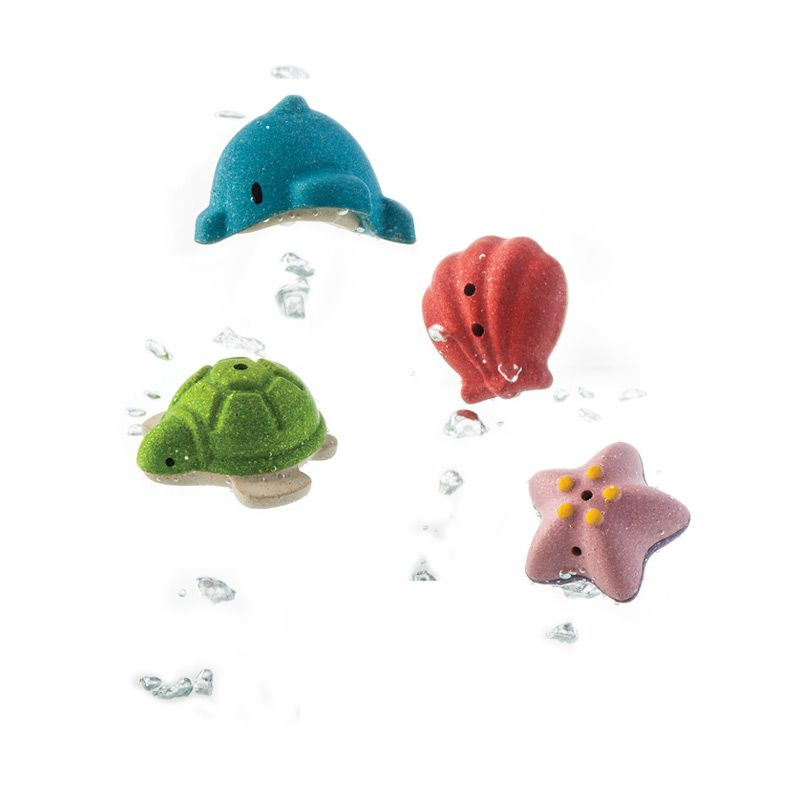 Plan Toys Sea Life Bath Set PT5658 Mainan Bayi