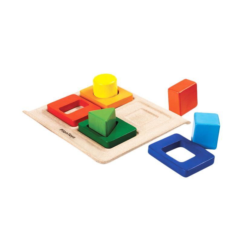 Plan Toys Shape Sorter PT5646 Mainan Anak