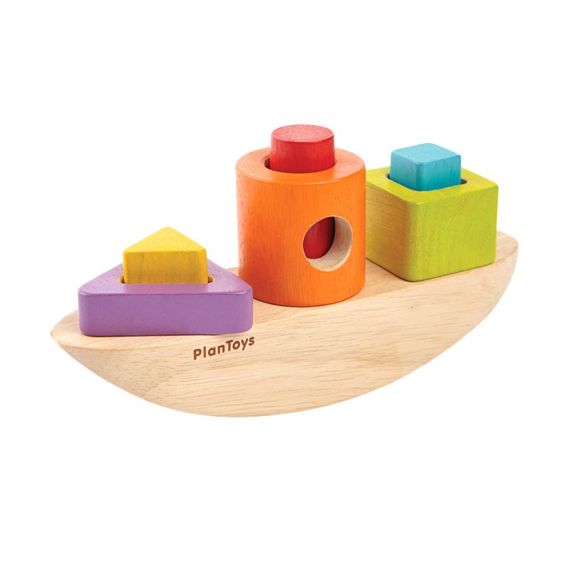 Plan Toys Sorting Boat PT5429 Mainan Anak
