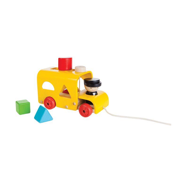 Plan Toys Sorting Bus PT5121 Mainan Anak