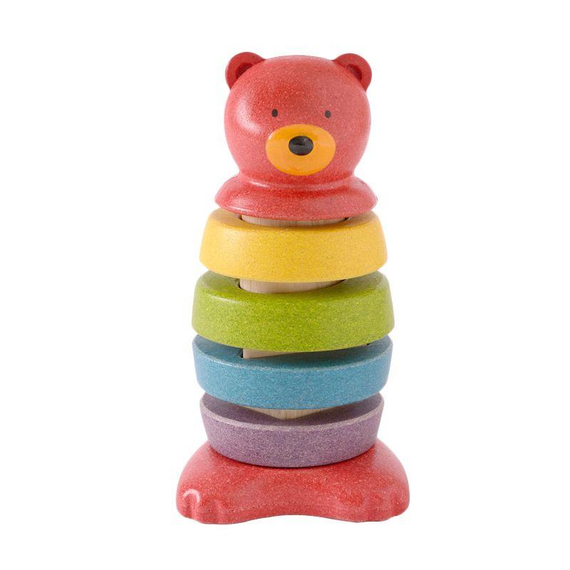 Plan Toys Stacking Bear PT5622 Mainan Anak