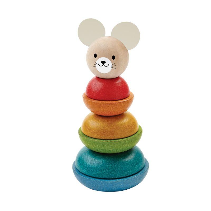 Plan Toys Stacking Ring Mouse PT5681 Mainan Anak