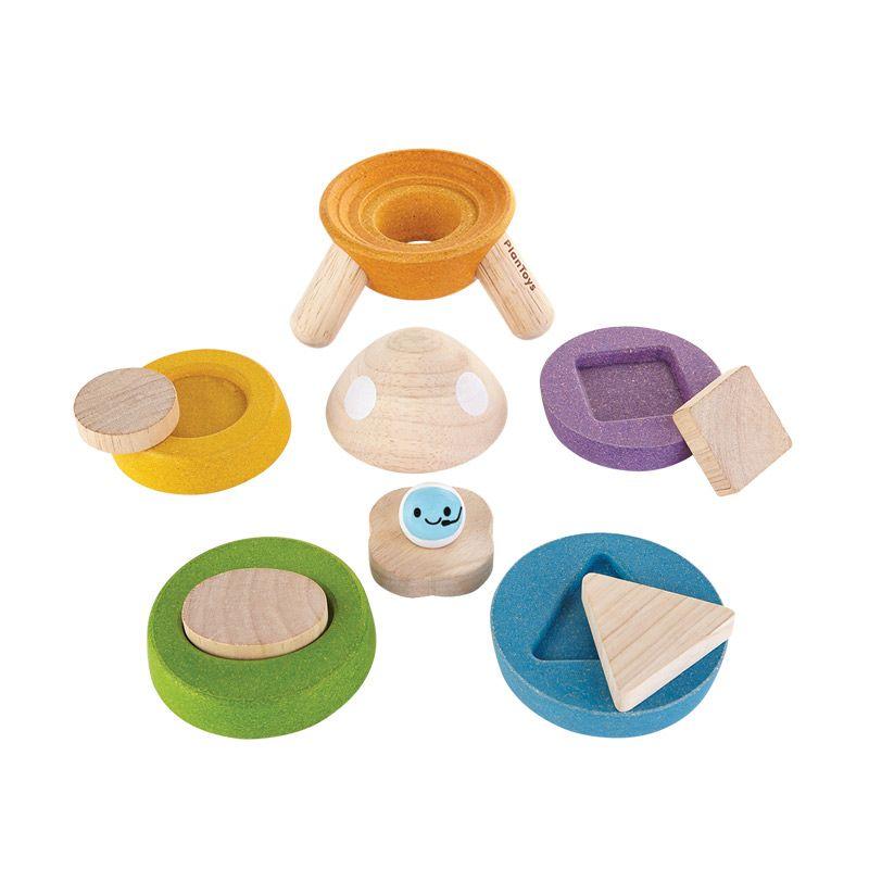 Plan Toys Stacking Rocket PT5694 Mainan Anak