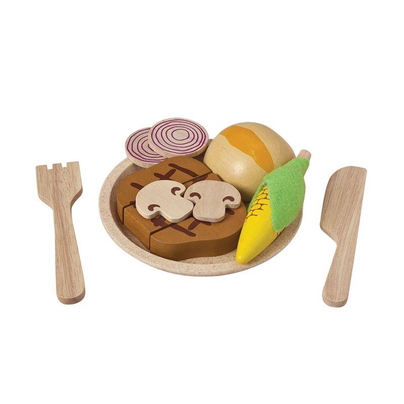Plan Toys Steak Set PT3465 Mainan Anak