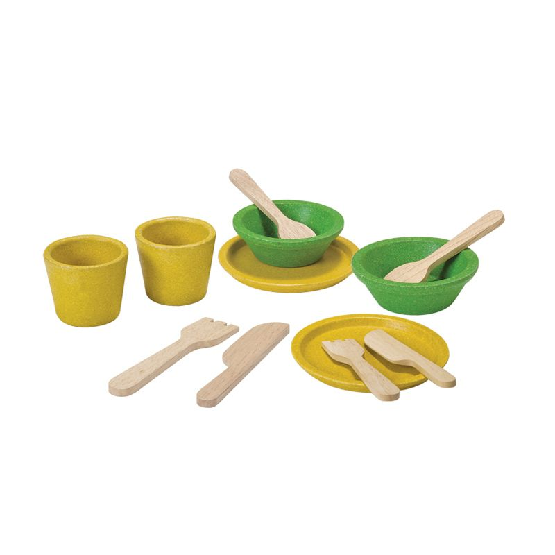 Plan Toys Tableware Set PT3605 Mainan Anak