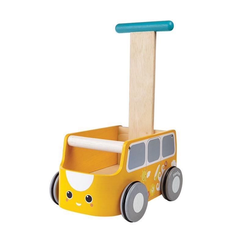 Plan Toys Van Walker PT5184 Yellow Mainan Bayi