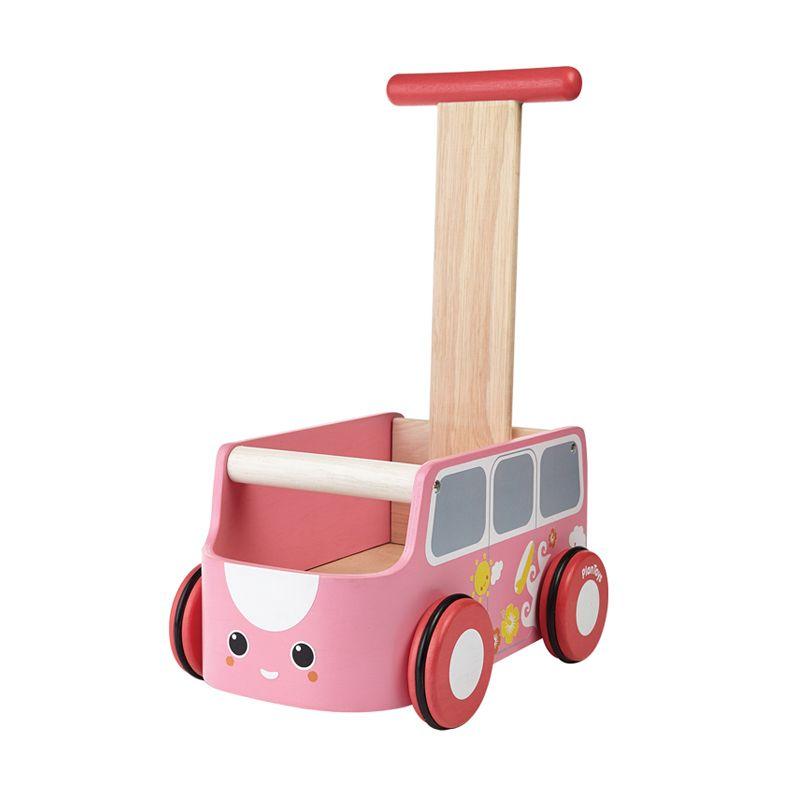 Plan Toys Van Walker PT5185 Pink Mainan Bayi