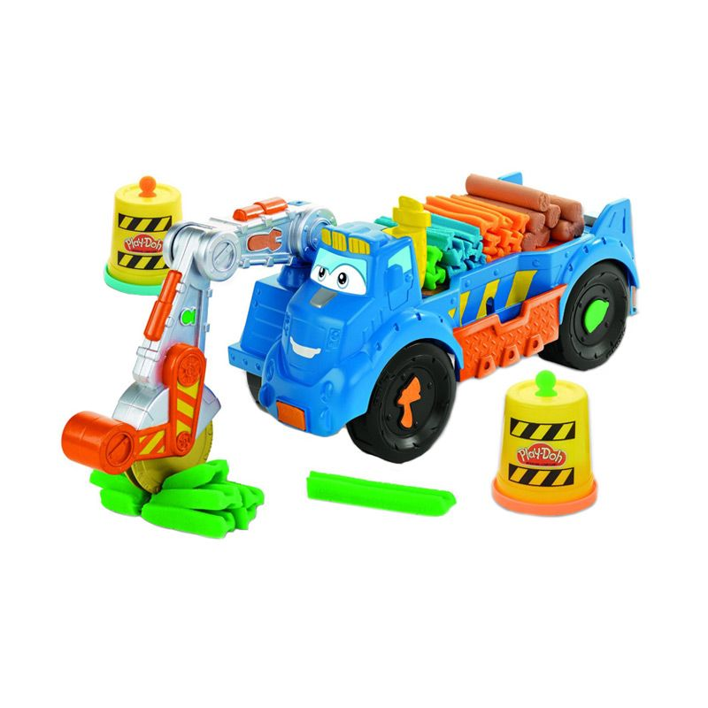 PlayDoh Digging Rigs Buzzsaw Set A7394 Mainan Anak