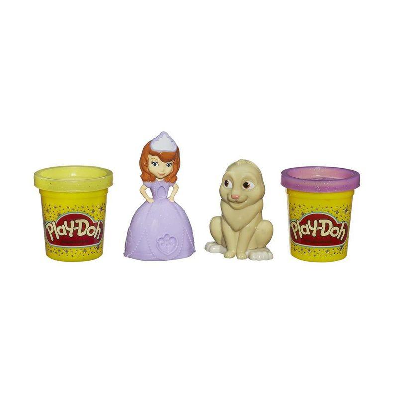 PlayDoh Disney Princess Sofia and Clover A7400 Mainan Anak