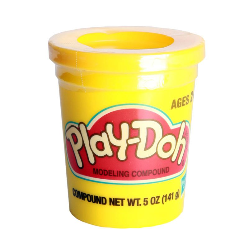 PlayDoh Single Can 23869 Yellow Mainan Anak