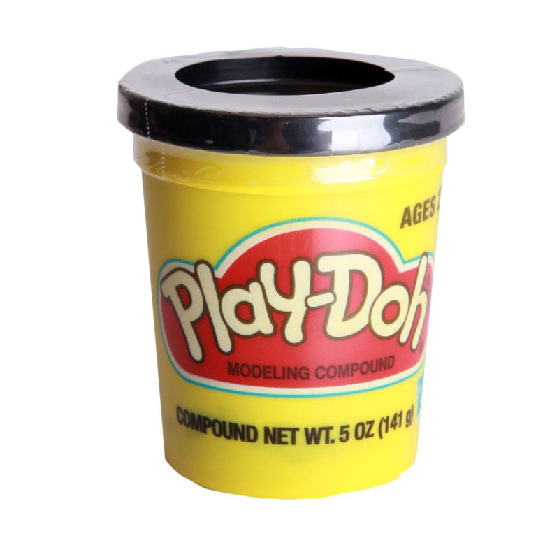 PlayDoh Single Can Black 23848 Mainan Anak