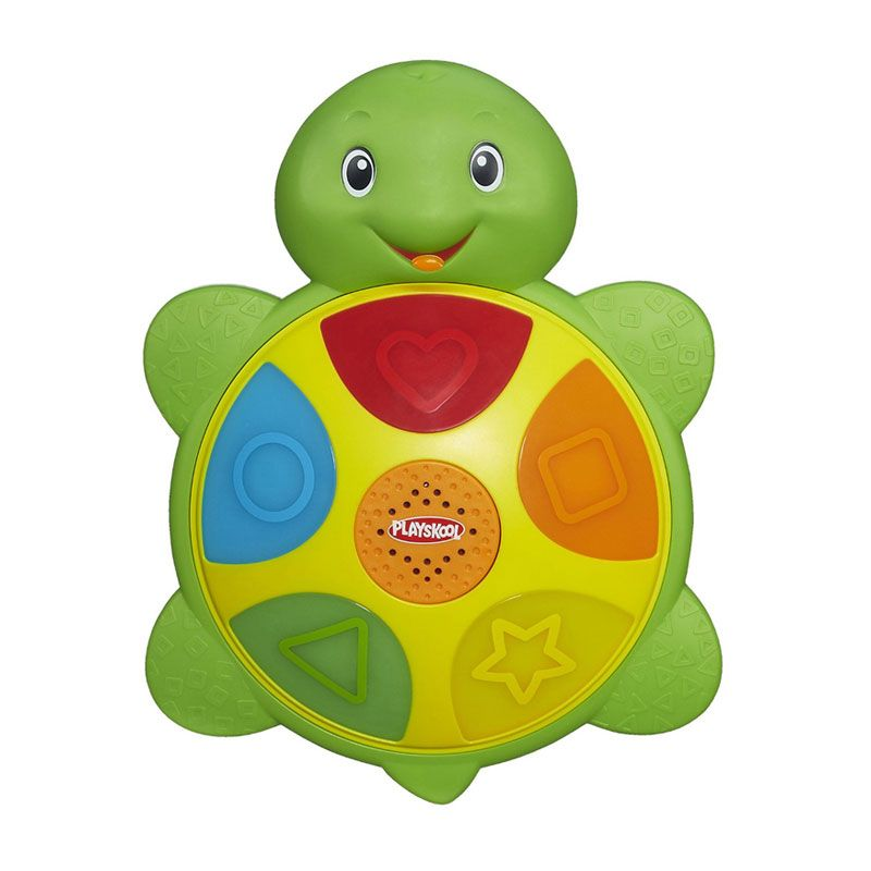 Playskool Elefun And Friends Shapes n Colors Turtle A6046 Mainan Anak