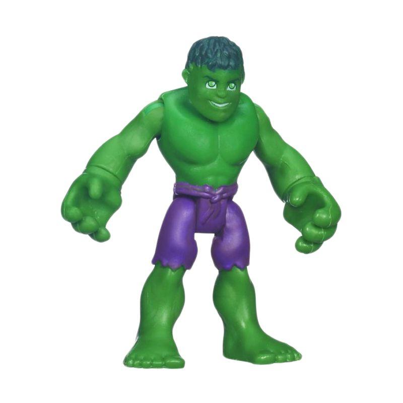 Playskool Heroes Marvel Super Hero Adventures Hulk 37650 Mainan Anak