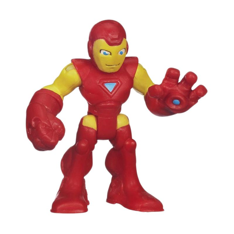 Playskool Heroes Marvel Super Hero Adventures Iron Man 37651 Mainan Anak