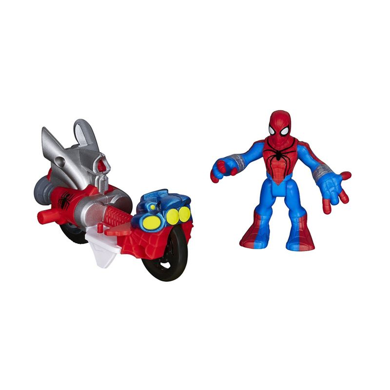 Playskool Heroes Marvel Super Hero Adventures Spider Man Vehicle A7426 Mainan Anak