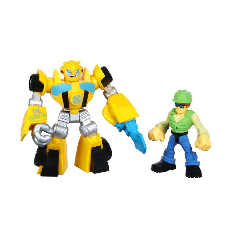 Playskool Heroes Transformers Rescue Bots Bumblebee & Graham Burns A2110 Mainan Anak