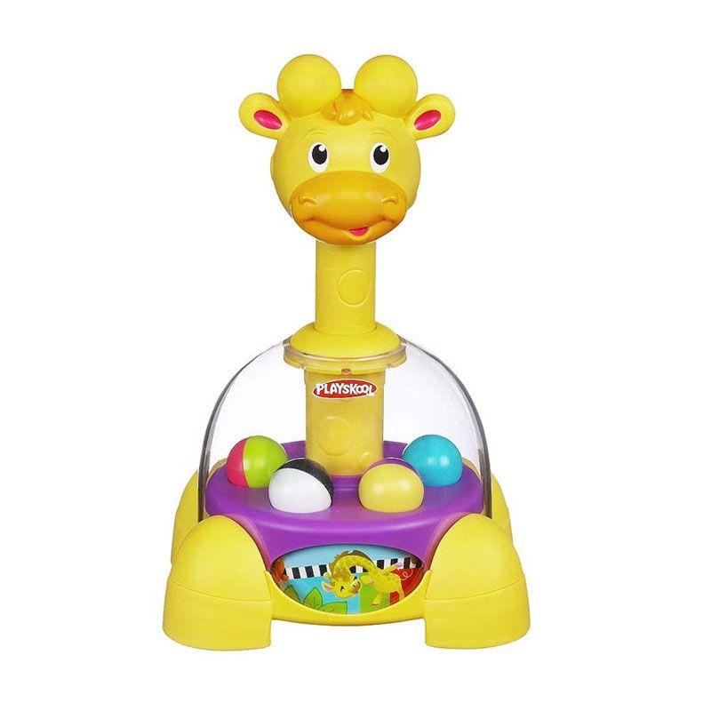 Playskool Poppin Park Giraffalaff Tumble Top 39972 Mainan Anak