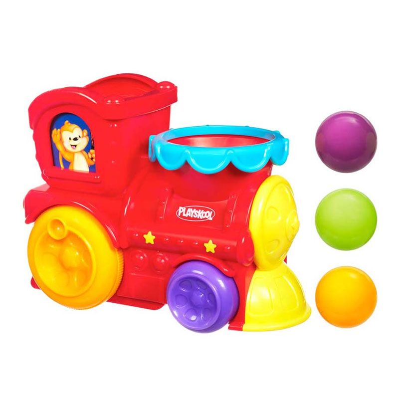Playskool Poppin Park Roll N Pop Express 31942 Mainan Anak