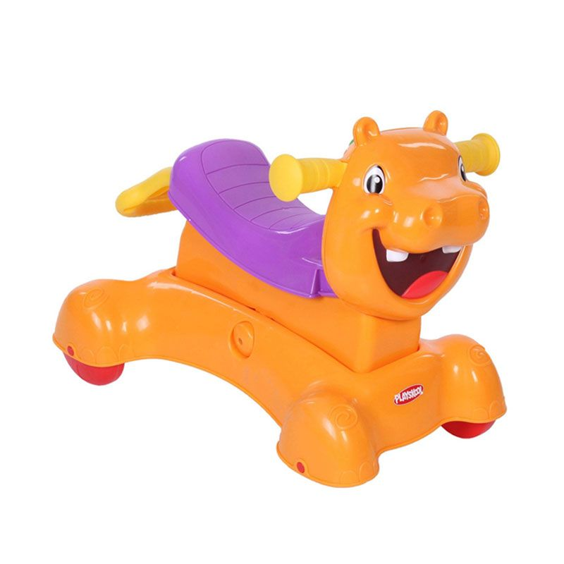 Playskool Rock Ride N Stride Hippo A7389 Mainan Anak