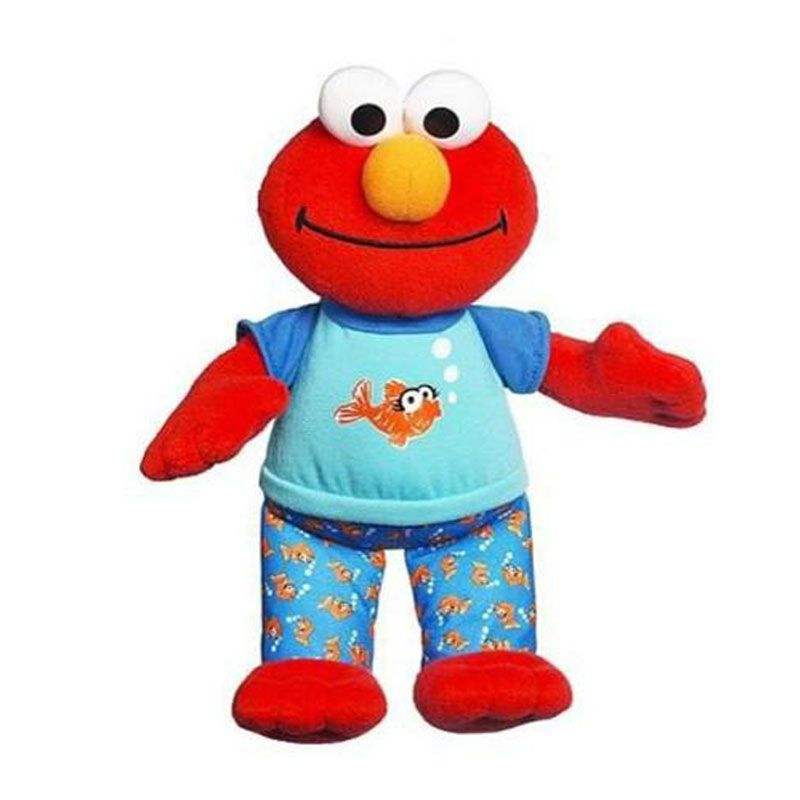 Playskool Sesame Street Lullaby & Good Night Elmo 36661 Mainan Anak