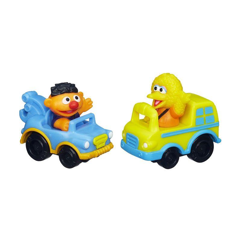 Playskool Sesame Street Racers Big Bird & Ernie A6115 Mainan Anak