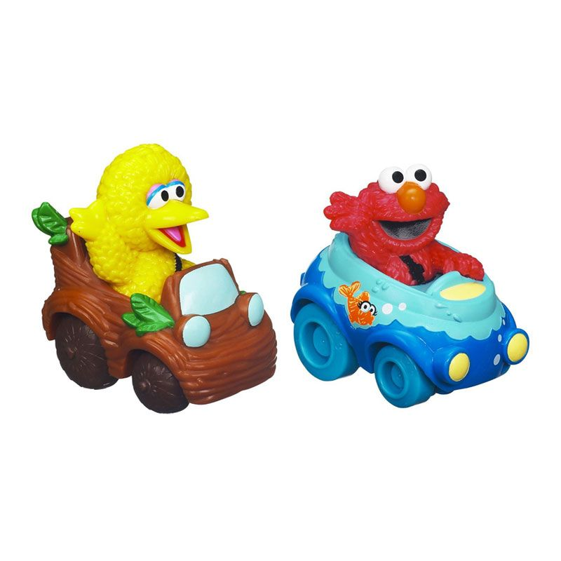 Playskool Sesame Street Racers Elmo & Big Bird A0592 Mainan Anak