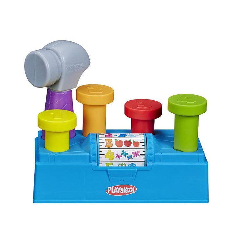 Playskool Tap N Spin Toolbench A7405 Mainan Anak