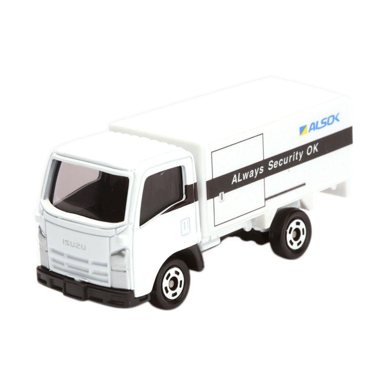 Tomica Alsok Cash Transport Truck White Diecast