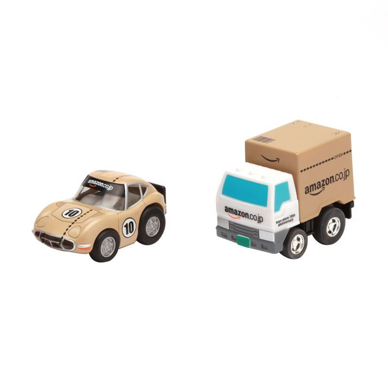 Tomica Amazon.co.jp Toy Store 10th Anniversary Choro Q Set Diecast