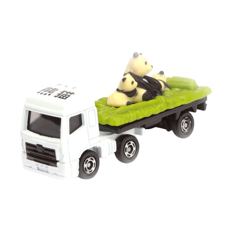 Tomica Animal Transporter White Diecast [1:64]