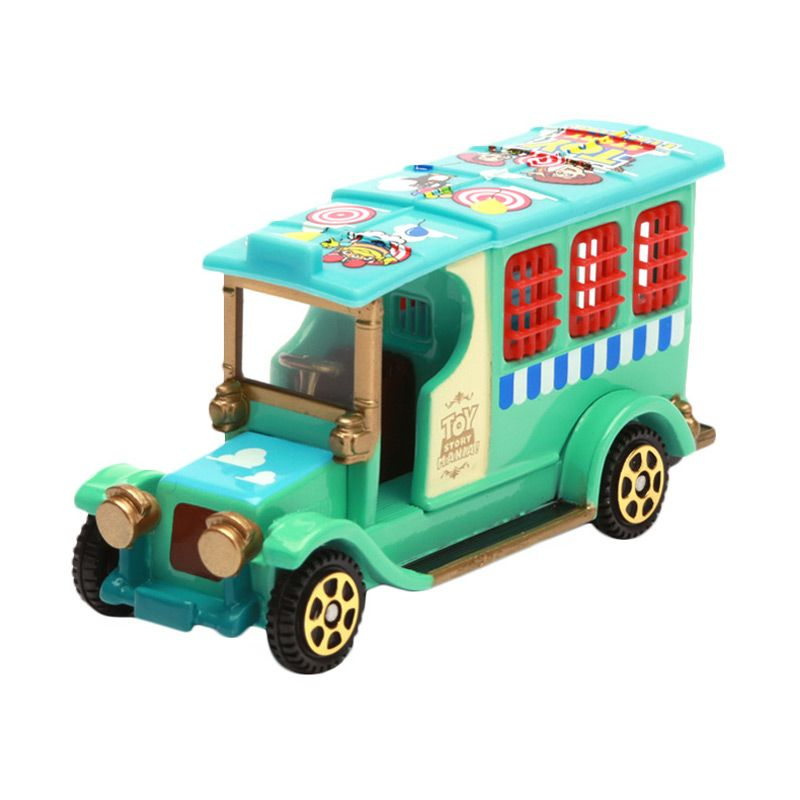 Tomica Big City Police Wagon Toy Story Green Diecast