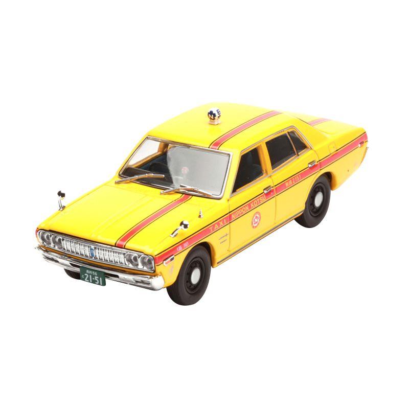 Tomica Cedric Nippon Kotsu Taxi 1/43 Yellow Diecast