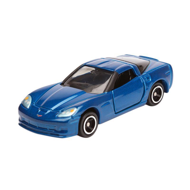 Tomica Chevrolet Corvette Z06 Blue Diecast