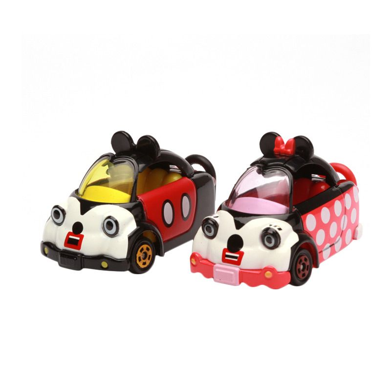 Tomica Chip and Dale Cubic Mouse Tap Set Red and Pink Diecast [2 Pcs]