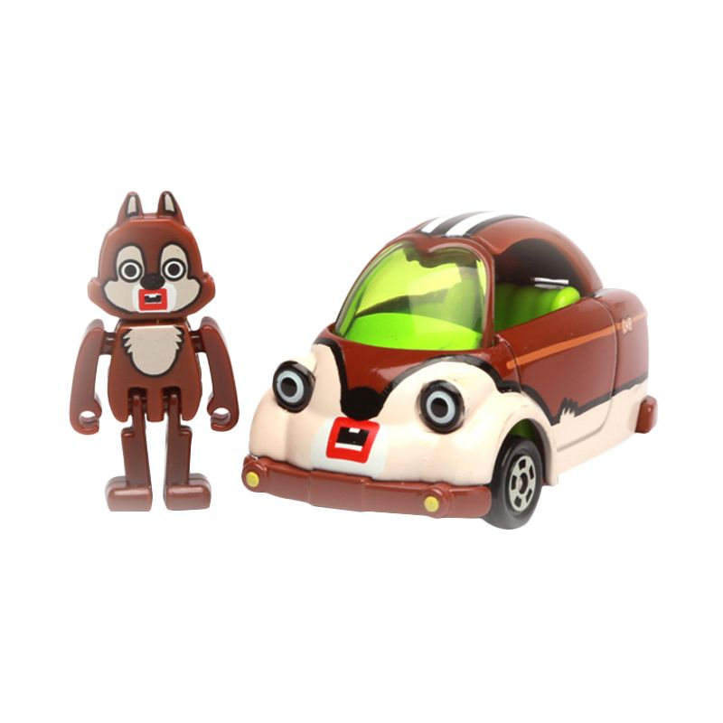 Tomica Chip Mouse Cubic Mouth Brown Diecast [1:64]